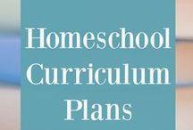 Homeschool Curriculum Plans / Homeschool curriculum, yearly curriculum plans, homeschool curriculum plans, curriculum by grade level, homeschool year plans, curriculum lists, curriculum outlines, curriculum plans, how to plan your homeschool year