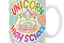 Unicorns / So much cute + magical unicorn stuff...