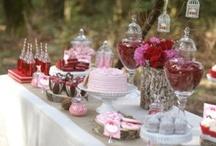 Sweet Tables ♡ inspiration / De mooiste Sweet Tables !
