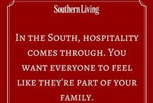 Southern Hospitality / Margaret Holmes products are canned  in Effingham, South Carolina, so we know all about southern hospitality! This board is dedicated to all things southern. Now let's pour you some sweet tea, and sit a spell...