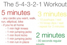 health&fitness. / by Alison Groff