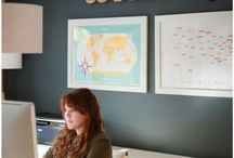 Overjoyed Office  / Inspired office designs.