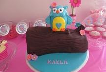 Owl Party Ideas - Kayla