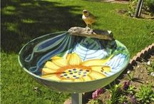 Bird Baths - Mosiac and others / by Sue Wiggins