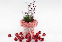 Christmas Table Decorations / by Sue Wiggins