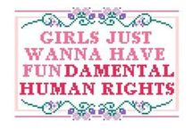 ♀Girlpower ♥ / About feminism, women, girls, ladies, babes
