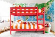 kids rooms / by Sarah Robbins McGill