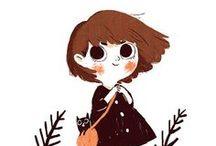 { Children's Book Illustrations }