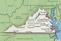 Virginia ~ My HOME State <3 / by Jenny Mize Toufas