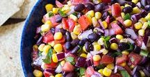 Recipes Featuring Black Beans / Recipes featuring delicious black beans! Quesadillas, salsas, casseroles, bowls and so much more.
