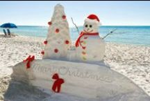 Christmas at the Beach ideas / by Sue Wiggins