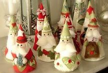 Christmas Crafts from Felt / by Sue Wiggins