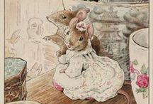 Beatrix Potter / Illustrations and adorable stories