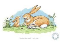 Anita Jeram / Guess how much I love you, and etc