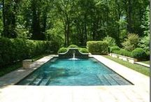Pools and court yard ideas