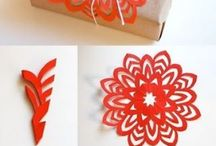 Gift Wrap / I love to wrap gifts. Find inspiration here.