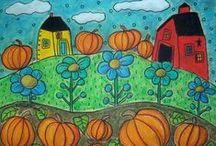 Fall art ideas