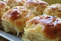 OUR DAILY BREAD / A SELECTION OF SAVORY YEAST BREADS, MUFFINS, SCONES, QUICK BREADS AND ROLLS / by Carole Harrison