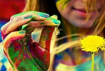 """Color My World. / """"And I think to myself, what a wonderful world."""" -- Louis Armstrong"""