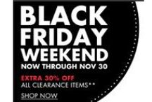 Black Friday + Cyber Monday Emails