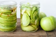 Pickled / Pickling is a great way to preserve a summer's harvest. Find pickle recipes for many different veggies here.