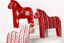 Dala Love / All things Dala horse, an icon of Swedish folk art.