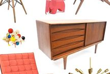 Midcentury Modern / Art and design of the era and inspired by