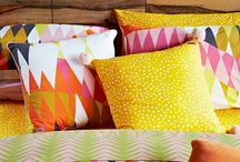 Throw Pillows / Throw pillows add such personality to a space.