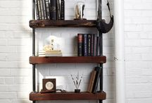 Build -  Industrial & Pipe Furniture / Always looking for the best looking with the easiest assembly for this hot trend.  A variety of pieces and levels of difficulty included.