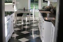 Redo - Floors / Actively collecting ways to updo existing floors via inexpensive options.