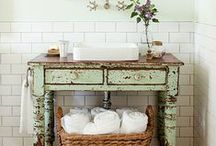 Redo - Bathrooms / Collecting ideas best suited for the DIYer.