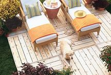 Build - Pallets and Crates / Inspired ideas for upcycling pallets and crates.