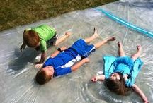 Summer Fun for Kids / Busy kids ...doing fun things.... are happy kids.  Let's have fun.