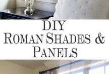 Window Treatments / Poorly dressed windows can ruin an otherwise beautifully dressed room.  This board includes a variety of options..creative, budget friendly, & EASY to make.