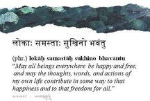 Mantras ❤️ Sanskrit / Mantras  Sanskrit Sánscrito