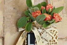 Decorate - Burlap and linen / Home decor made from burlap and linen...especially vintage linen.