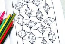 Adult Coloring / Coloring isn't just for kids anymore!