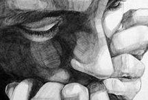 Ballpoint Pen Art / Art of all made with the humble ballpoint pen
