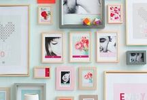 Wall Art / DIY and wall art ideas for the home