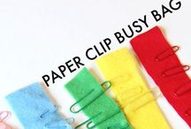 Fun Fine Motor Skill Activities / Kids' fine motor skill activities for early learning.