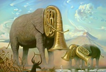 Art - Surrealism and  Magic Realism / by Crone