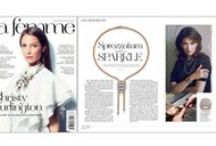 As seen in the press / A collection of editorials featuring #FOPE jewellery .