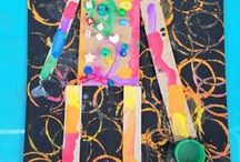Kids Art & Crafts / Creative art and crafts ideas for kids from preschool through elementary.