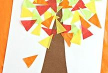 Fall Fun for Kids / Fun kids activities and crafts to celebrate Autumn!