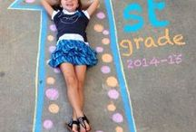 Kids Back to School Ideas / Crafts and activities to celebrate Back to School!