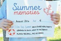 Keeping Kids' Memories / DIY and craft ideas for preserving your kids' memories.