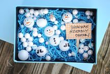 Winter Fun for Kids / Fun kids crafts and activities perfect for Winter!
