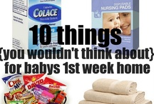 New Mom Tips / Tips, tricks and advice on motherhood. / by Sadie Harmon