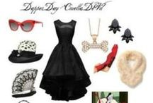 Disney's Dapper Day / Dressing Dapper and attending a Disney park is the theme! Women's clothes, vintage feel. Walt Disney World and Disneyland host biannual events to dress up.