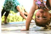 Children's Yoga / Namaste Y'all who are small  / by Kat Cantelou